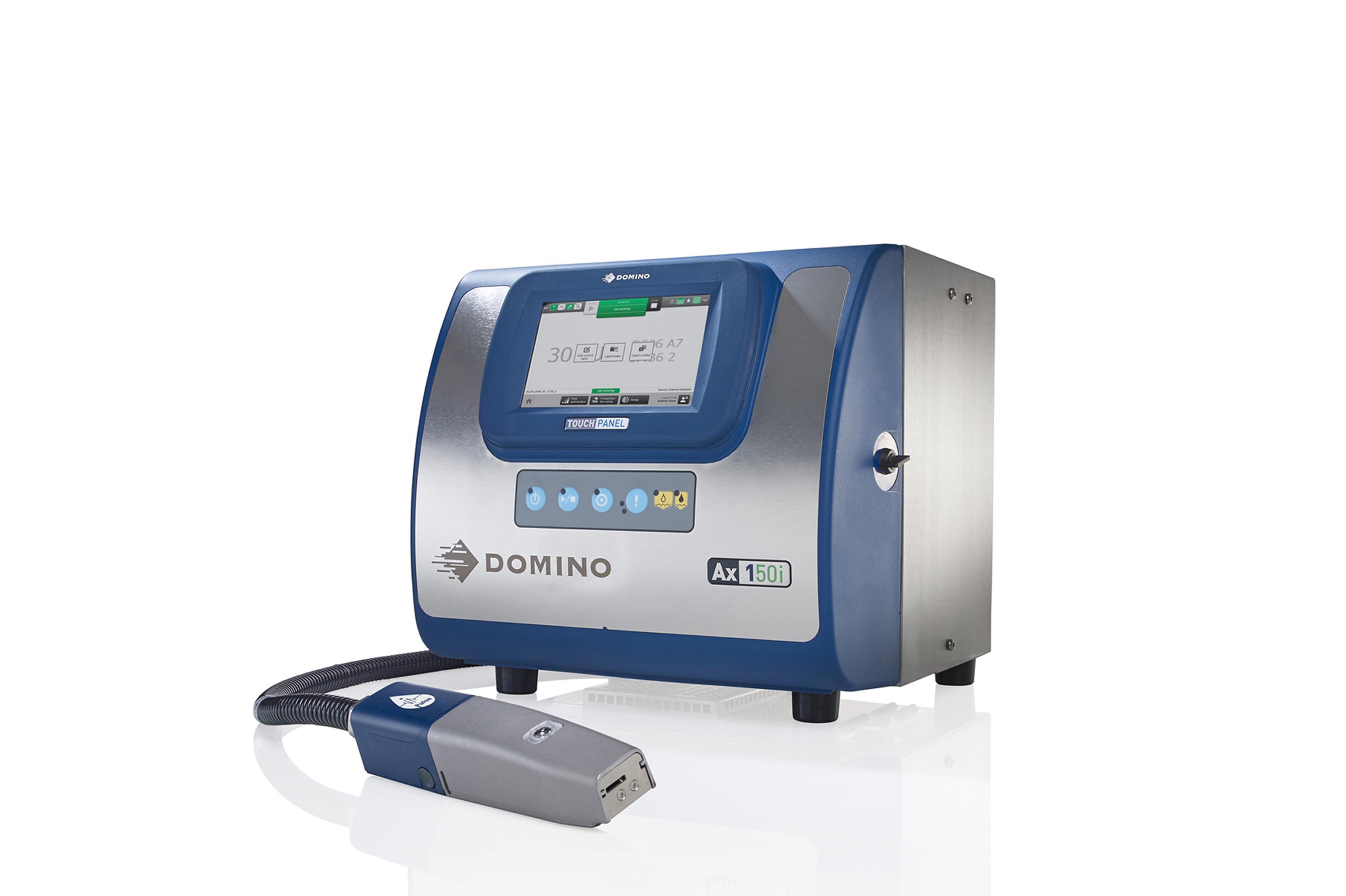 多米诺Ax150i微字符喷码机